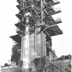 Rocketdyne-test-stand