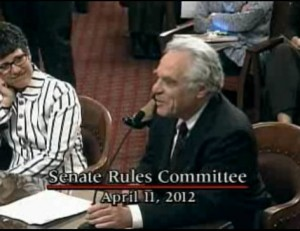 Debbie Raphael and Boeing lobbyist Peter Weiner